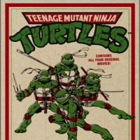 Teenage Mutant Ninja Turtles Film Collection 25th Anniversary Collector's Edition Blu-ray