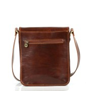 Leather shoulder bag - Large
