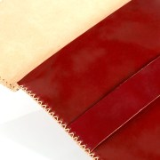 """Cordovan"" leather Ipad case with vegetable tanning"