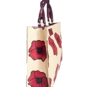 Big leather handbag with handles