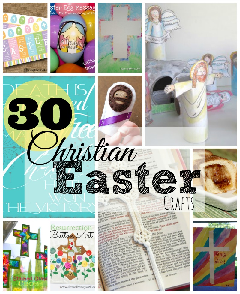 30 Christian Easter Crafts \u2013 Do Small Things with Great Love - free printable religious easter cards