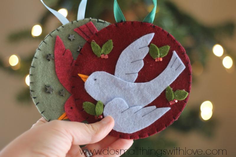 free templates for felt christmas decorations - Rainforest Islands - felt christmas decorations