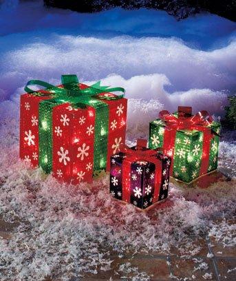 DIY Christmas Light Decoration Ideas - Outdoor Christmas Decor - lighted outdoor christmas decorations