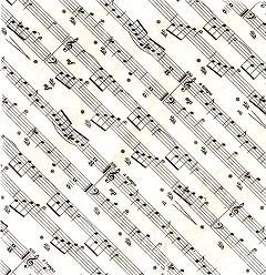 Music Gifts and Collectables Napkins Sheet Music Shop UK