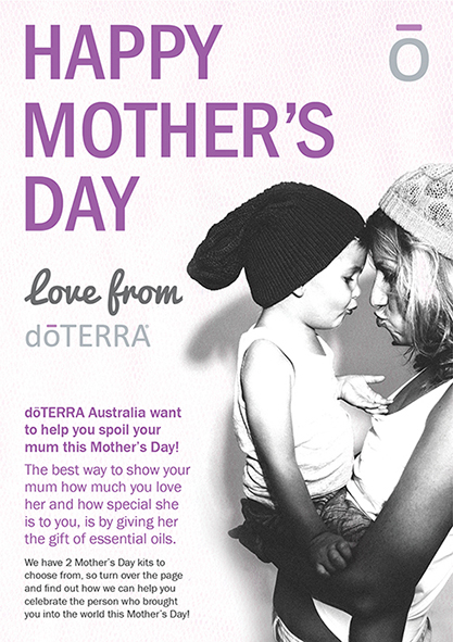 Happy Mother\u0027s day! - dōTERRA everyday - Australia - mothers day flyer