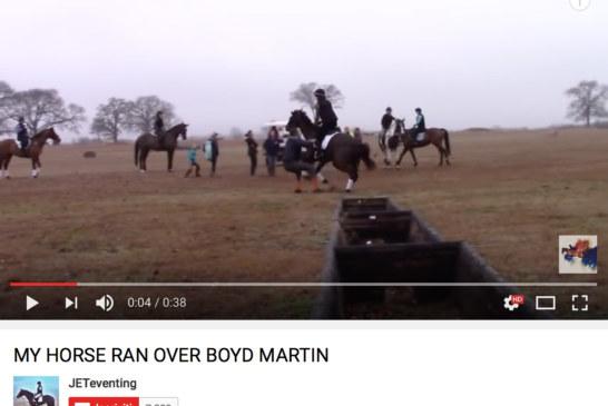 Stage di Boyd Martin, da Candid Camera