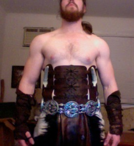 Finished Khal Drogo costume by Bryce Homick (image by Bryce Homick).