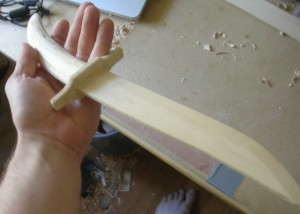 A knife made by Bryce Homick (image by Bryce Homick).
