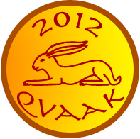 The 2012 Red Rabbit Award presented to Qvaak.