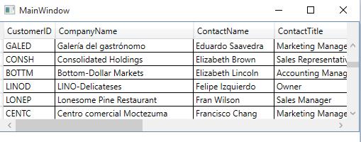 Linq To SQL DataGrid