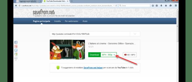 Come scaricare i video di YouTube dal web