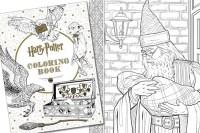 Libro da colorare di Harry Potter | DottorGadget