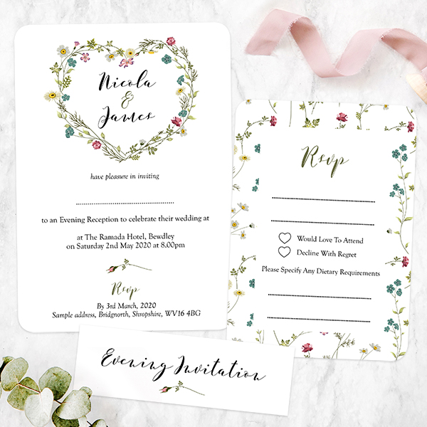 How to Word Your Evening Wedding Invitations Dotty about Paper