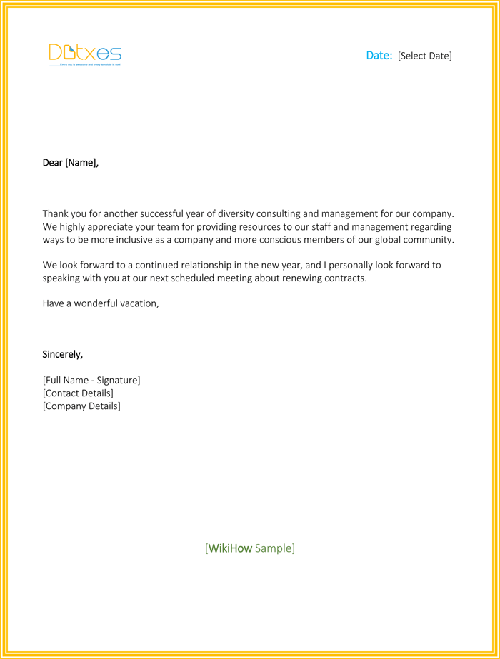 Business Letter Nice To Meet You Professional resumes example online