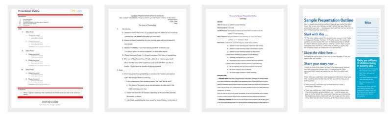 Presentation Outline Template - 19+ Formats for PPT, Word  PDF - presentation outline templates