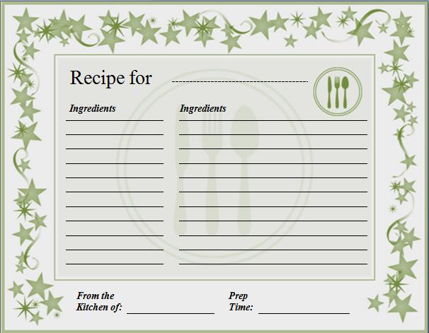 ms word postcard template