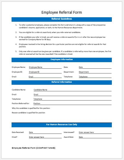 Employee Information Form Sample  NodeCvresumePaasproviderCom