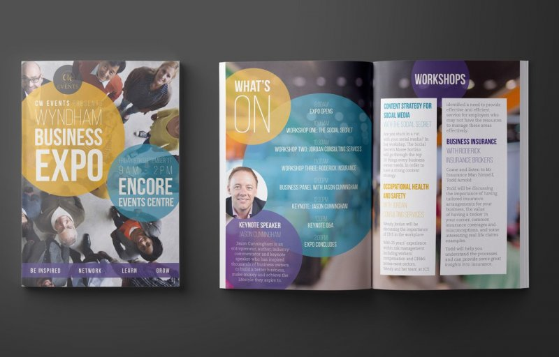 Event graphic design \u2013 Werribee, Melton \u2013 Double-E Design