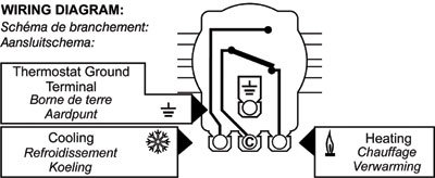 thermostats wiring diagram