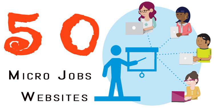 50 Online Micro Jobs Websites to Work from Home 2018