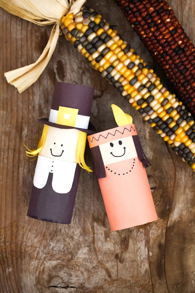 Diy thanksgiving craft printable double the batch for Easy diy thanksgiving crafts