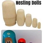 How to Make Your Own Family Nesting Dolls