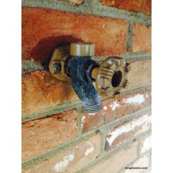 Small Crop Of Outside Water Faucet