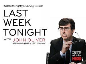 'Last Week Tonight' with John Oliver