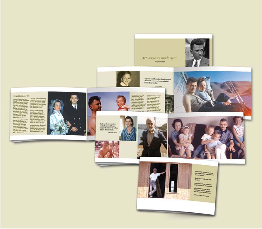 Mourning Dove Commemorative Booklets \u2013 Dovetail Design Studio