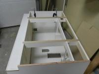 How to Reface a Bathroom Vanity Cabinet | Dowelmax