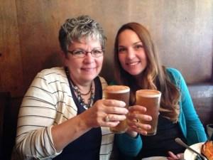 Mom & Jen- Rhinebeck Bound 2013