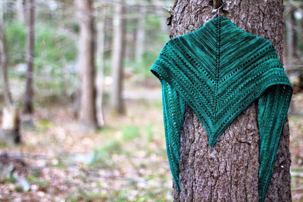 Tan House Brook Shawl | Down Cellar Studio Podcast  Designer BostonJen
