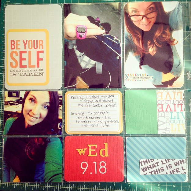 Project Life Aug 2013 Page