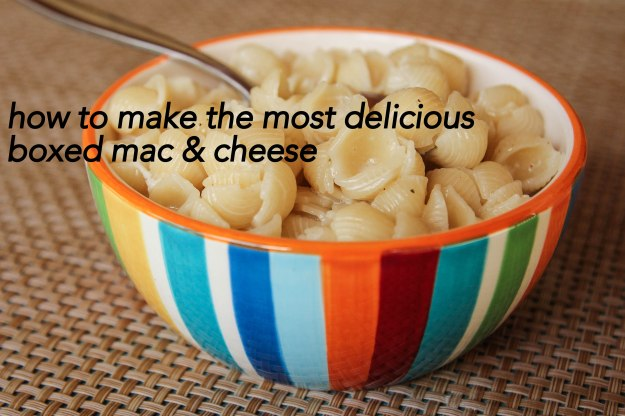 How to make the most delicious box mac and cheese | Down Cellar Studio