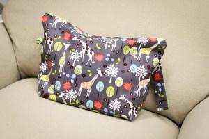 Giraffe Bag   Bags by Awesome Grannie