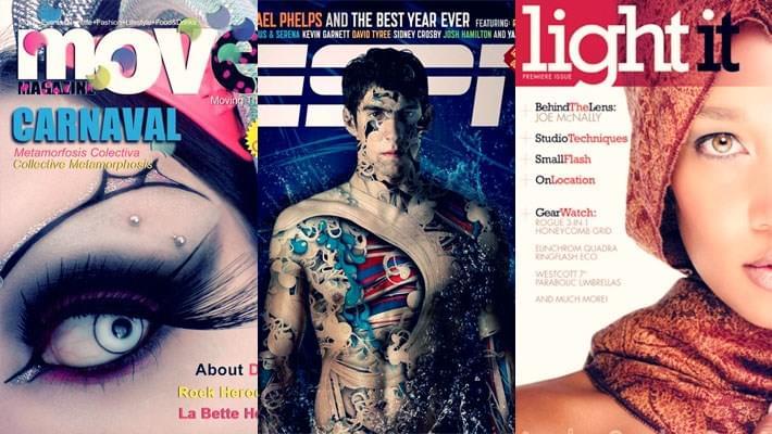 40 Magnificent Magazine Covers Design