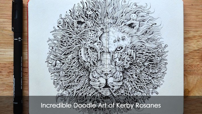Hd Wallpapers Of Nail Art Incredible Doodle Art Of Kerby Rosanes