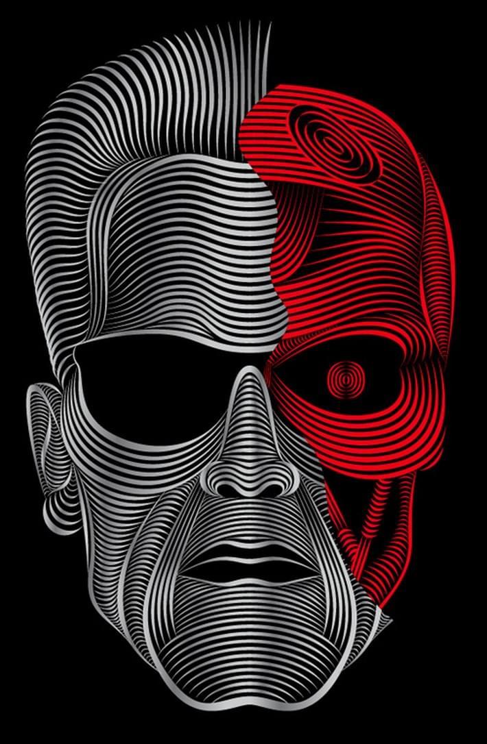 Girl Mask Wallpaper Brilliant Digital Art And Illustration