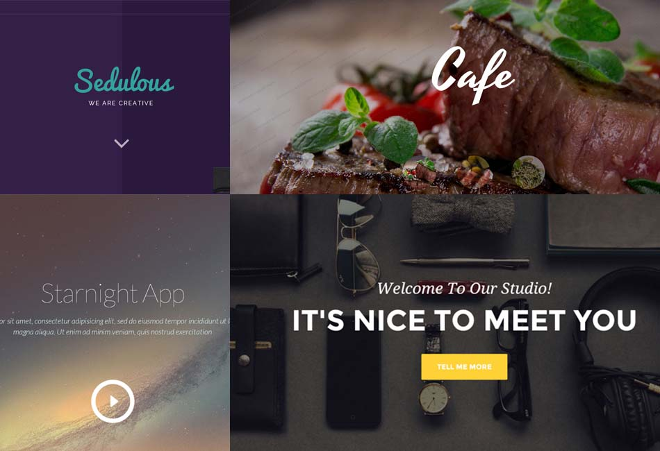 20 Most Beautiful Free HTML5 CSS3 Website Templates - Nice Templates