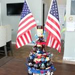 Patriotic Beer Cake