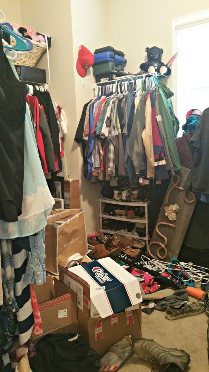 closet makeover