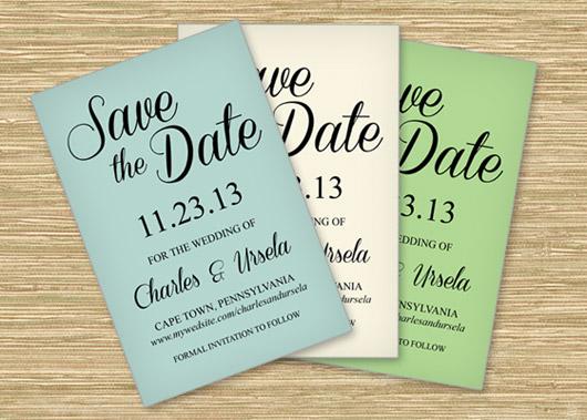 save the date printable radiotodorock - free wedding save the dates