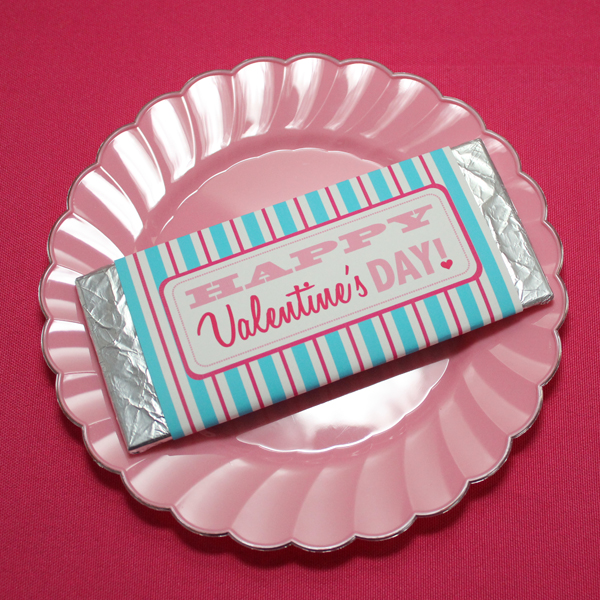 Valentine\u0027s Day Party Template Candy Bar Wrapper \u2013 Download  Print - candy bar wrapper template