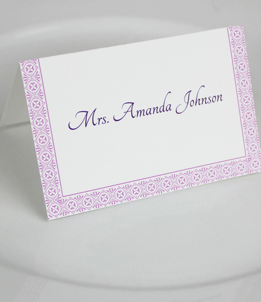 Microsoft Word Wedding Place Card Templates \u2013 Download  Print
