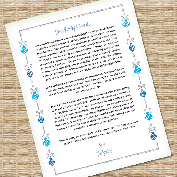 Microsoft Word Christmas Letter Template with Ornaments \u2013 Download - microsoft word christmas letter template