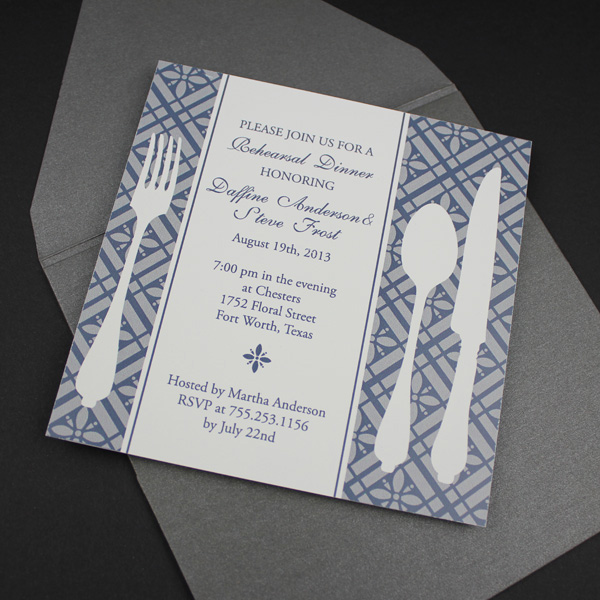 Invitation Template \u2013 Square Rehearsal Dinner Invitation \u2013 Download - dinner invite templates