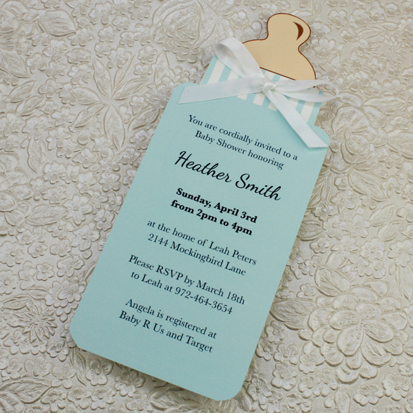 Baby Shower Download  Print - baby shower invitation template download
