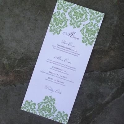 Menus Download  Print - free wedding menu templates