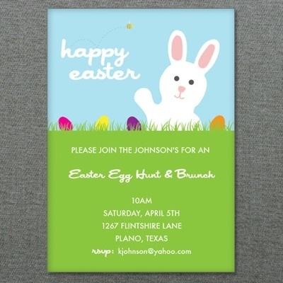 Easter Template \u2013 Easter Egg Hunt Invitation \u2013 Download  Print