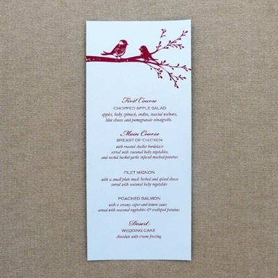 Menus Download  Print - event menu template